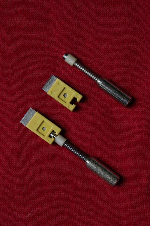 电子清纱器组件