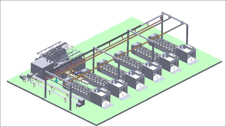 JSFA016智能棉卷搬运系统(KBK)
