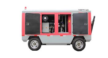 EL柴动系列移动式螺杆空气压缩机