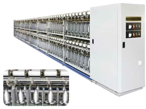 HW-310G/E 超高效节能化纤倍捻机
