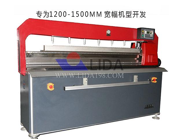 FIS-1500 型数控包盖板针布机