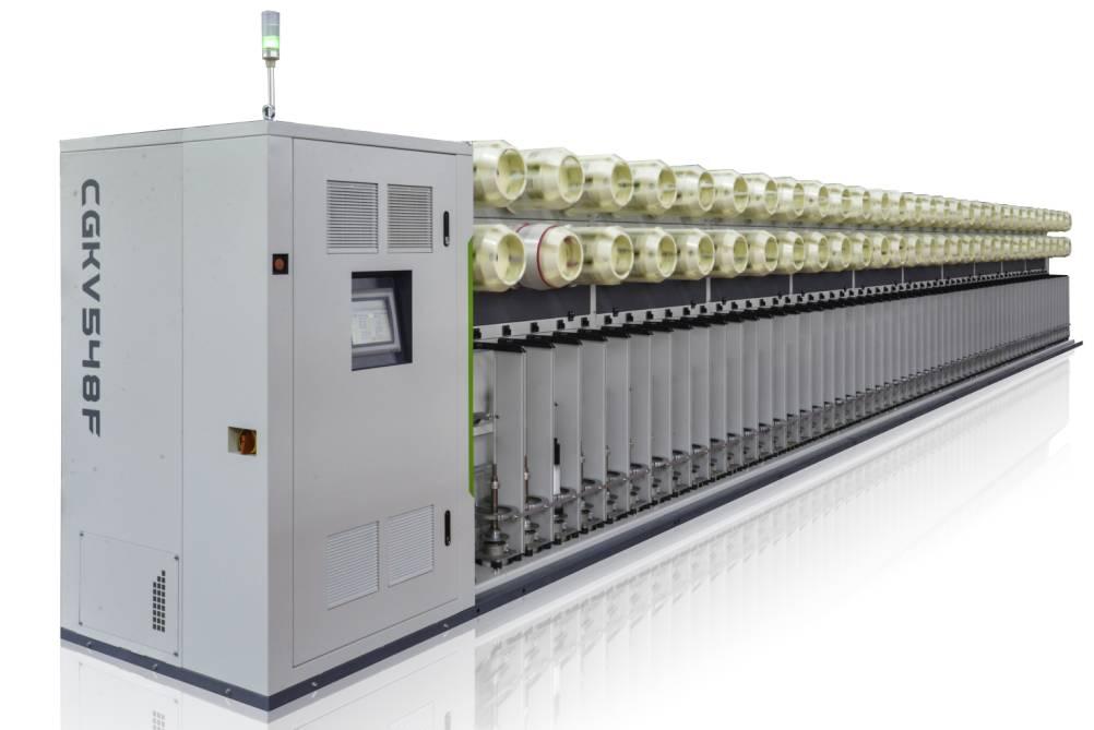 CGKV548E/548F玻璃纤维捻线机