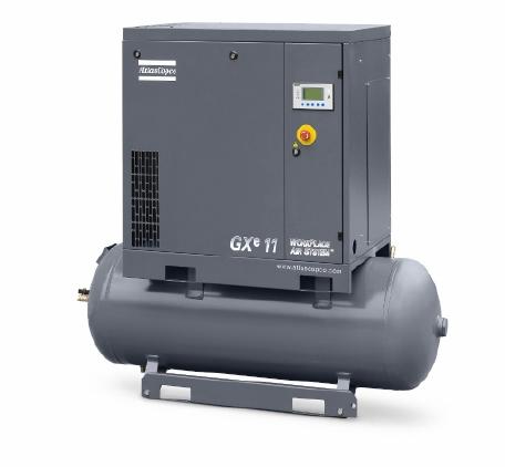 喷油旋转式螺杆压缩机GXe 7-22