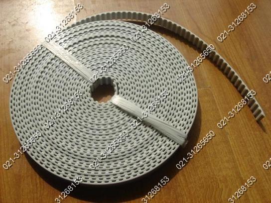 白色PU同步带、钢丝芯同步带、白色同步带