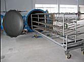 竹节纱(电/汽)调湿蒸纱机