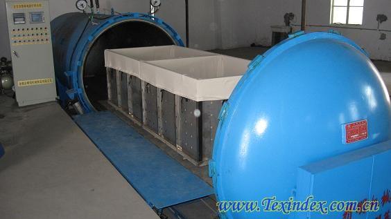 新型智能蒸纱设备(蒸纱机)