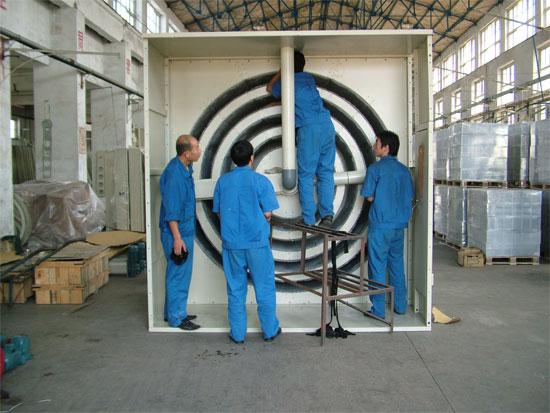 圆笼式除尘机组