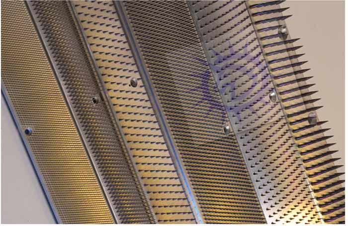 铝合金针板