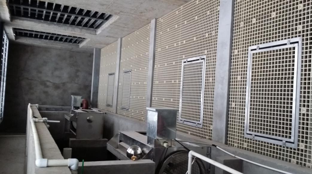 土建高速喷水室