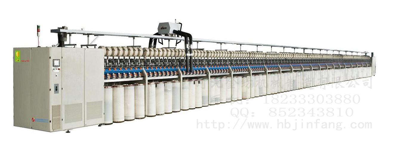 半自动抽气式转杯纺设备