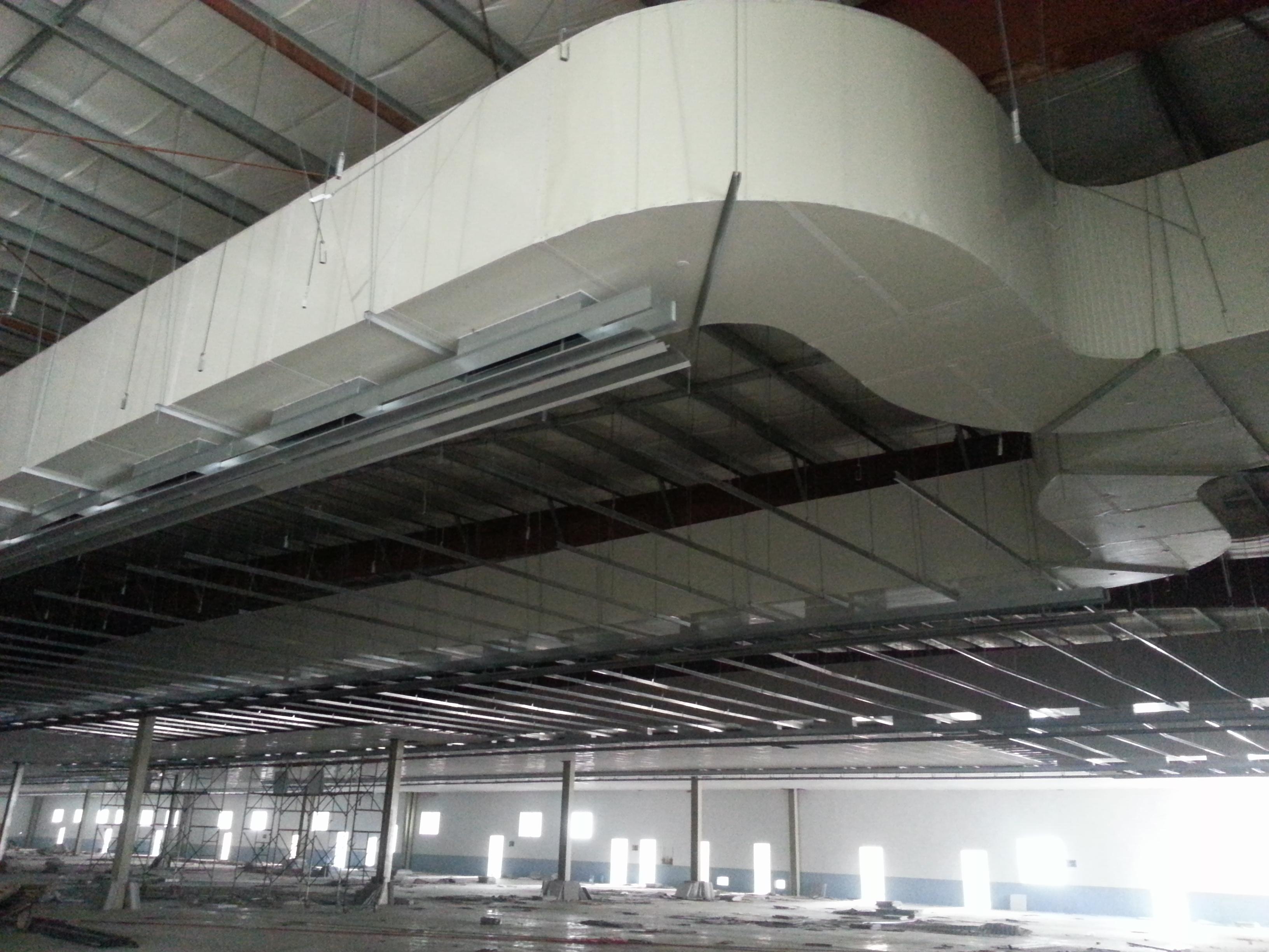 彩钢铝板酚醛复合风管