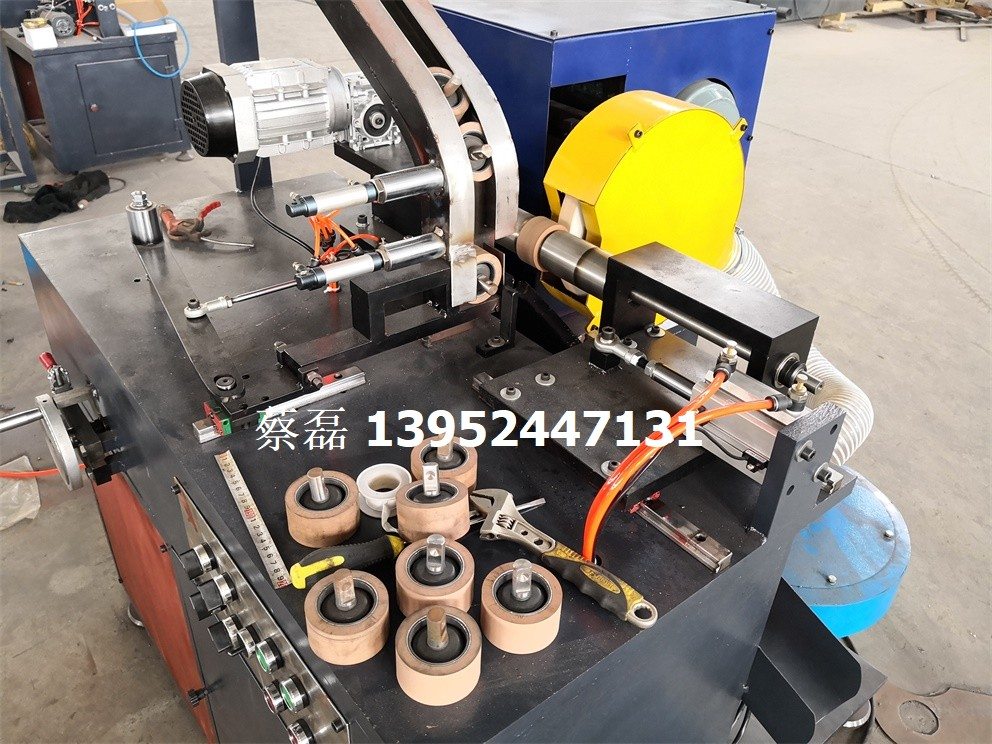 全自动新型加弹机橡胶皮辊回磨磨床 磨加弹机皮辊机械机器
