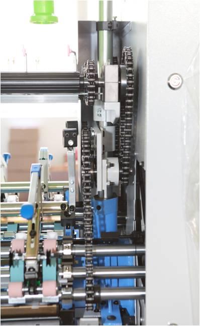 机械式氨纶包芯纱装置